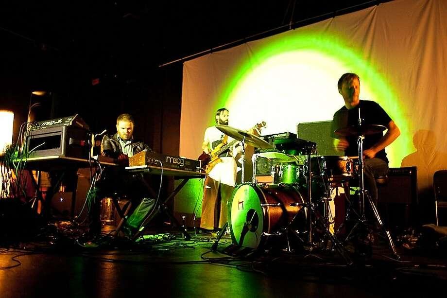 Jonas Reinhardt (from left): Jesse Reiner, Diego Gonzalez and Damon Palermo Photo: Neal Berrett
