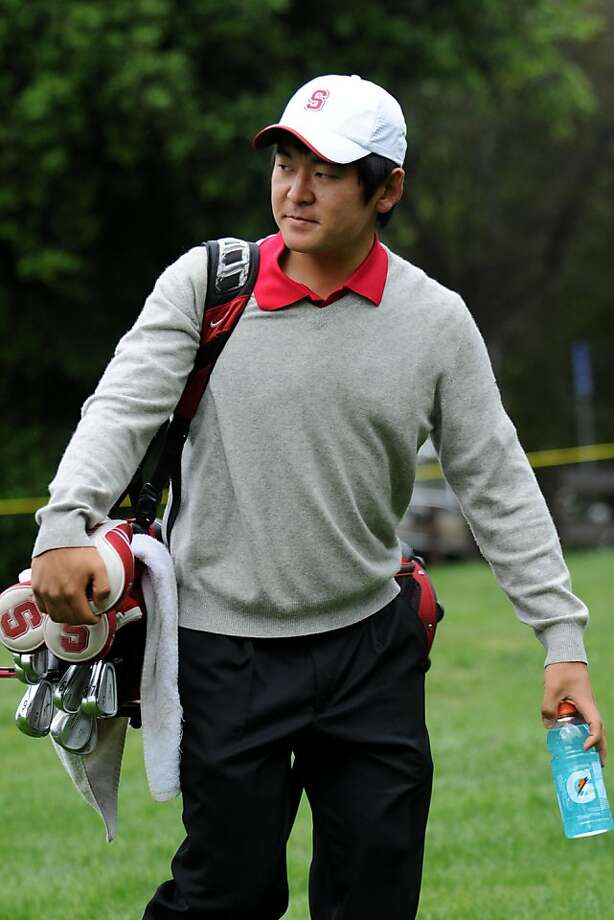 Andrew Yun, Stanford golf, April 2011. Photo: David Gonzales, Stanford Athletics
