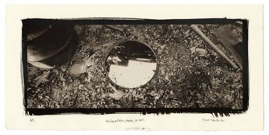 """Chris McCaw's """"Circular Reflection"""" is one of many works by local artists on sale this weekend to raise funds for Japenese earthquake and tsunami victims. Photo: Mina Dresden Gallery"""