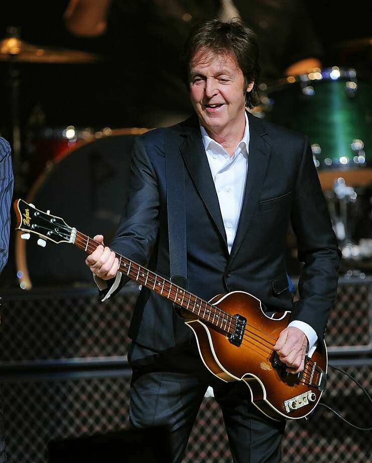 NEW YORK, NY - DECEMBER 13:  Paul McCartney performs at the World Famous Apollo Theater for the First Time, Celebrating 20 Million Sirius XM Subscribers at The Apollo Theater on December 13, 2010 in New York City.  (Photo by Larry Busacca/Getty Images for Sirius XM) Photo: Larry Busacca, Getty Images For Sirius XM