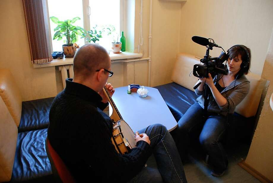 """Director Robin Hessman films Ruslan in the documentary """"My Perestroika,"""" about the last generation of Russians to grow up behind the Iron Curtain. Photo: Red Square Productions"""
