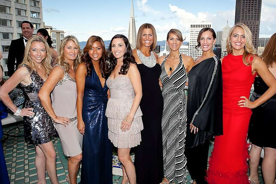 "cq'd: Alexandra Skillman, Nicole Bonar, Lillian Phan, Liza Gershman, Kelly O'Reilly, Jennifer Marples, Loree Dowse and Wendy Simon Armstrong at the Junior League of San Francisco's 85th Annual Fashion Show, ""A Fashionable Legacy,"" on April 8 at the Fairmont Hotel inSan Francisco. Photo: Bob Chang, For Moanalani Jeffrey"