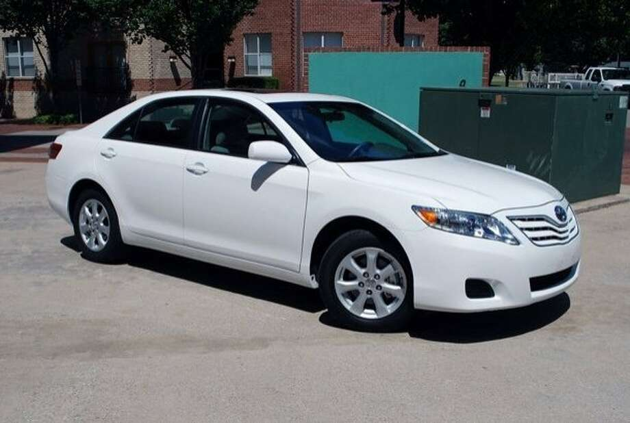 Oakland police say a Toyota Camry similar to this one was the car carrying a gunman who killed two men early April 24 in Sweet Jimmie's restaurant near Jack London Square. Photo: Oakland Police Department
