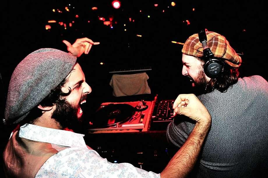 Afrolicious DJs Pleasuremaker and Senor Oz Photo: Quoc Pham