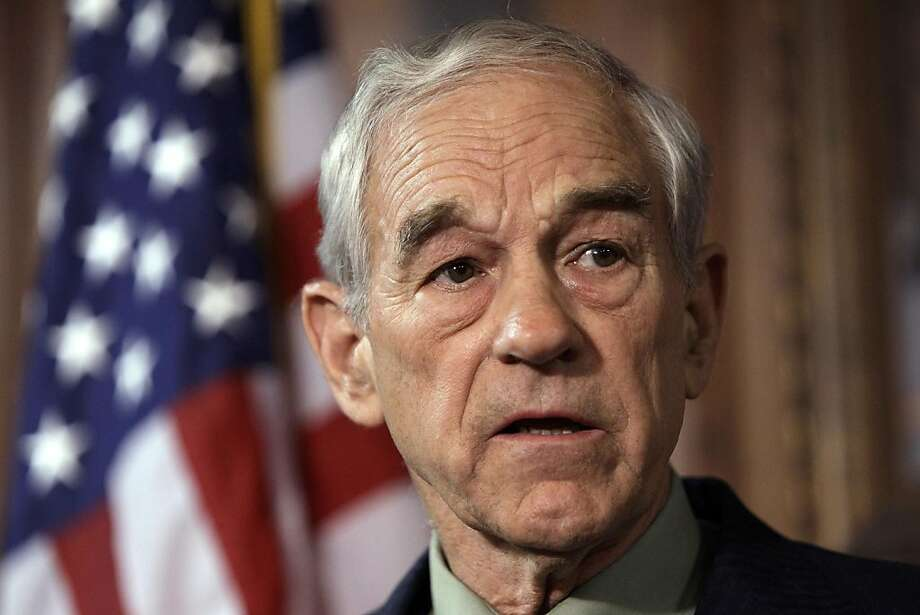 U.S. Rep. Ron Paul, R-Texas, speaks during a news conference Tuesday, April 26, 2011, in Des Moines, Iowa. Paul says he's forming a campaign exploratory committee as he moves closer to again seeking the Republican nomination for president. Photo: Charlie Neibergall, AP