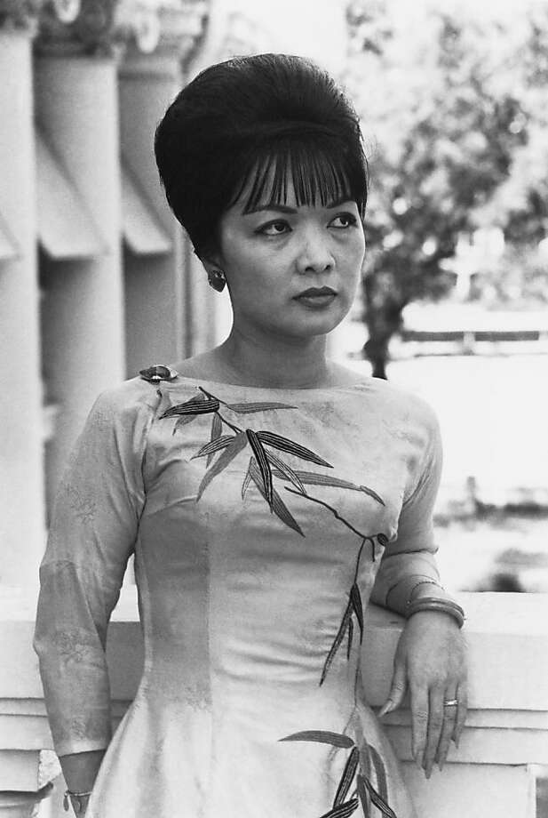 "CORRECTS NAME - FILE -  This Aug. 1963 photo shows Tran Le Xuan, known as Madame Ngo Dinh Nhu in unknown location.   Madame Nhu, the outspoken beauty who served as South Vietnam's unofficial first lady early on in the Vietnam War and earned the nickname ""Dragon Lady"" for her harsh criticism of protesting Buddhist monks and communist sympathizers, has died at age 86, a Rome funeral home said Wednesday, April 27, 2011. Photo: Associated Press 1963"