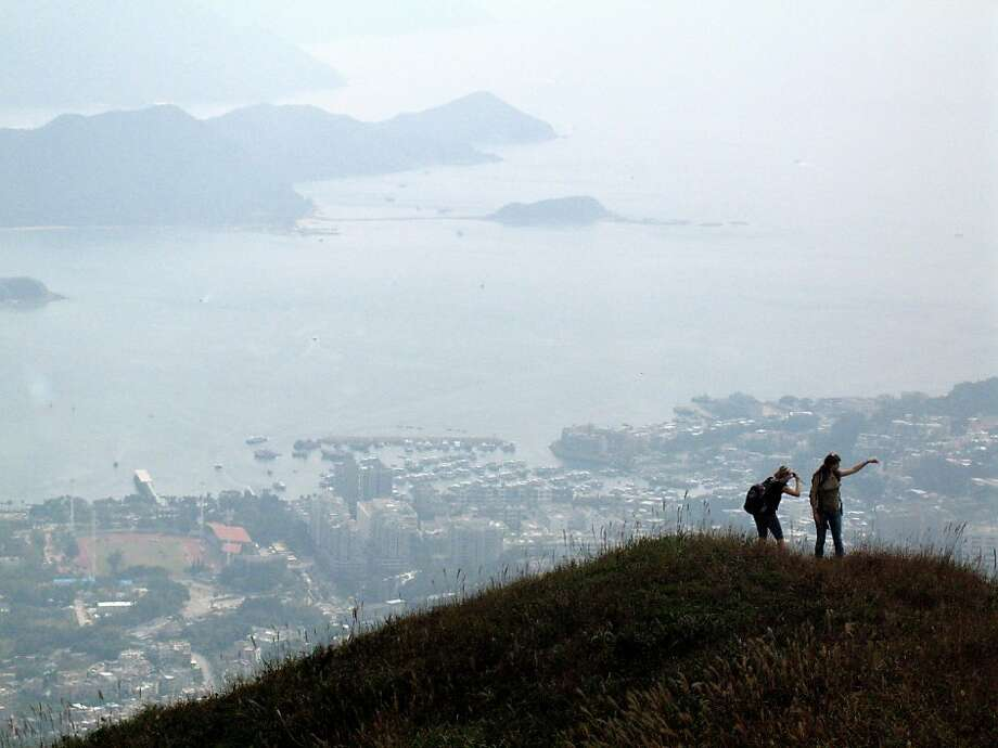 The view across the New Territories from the MacLehose Trail, Section 4. Photo: Margo Pfeiff