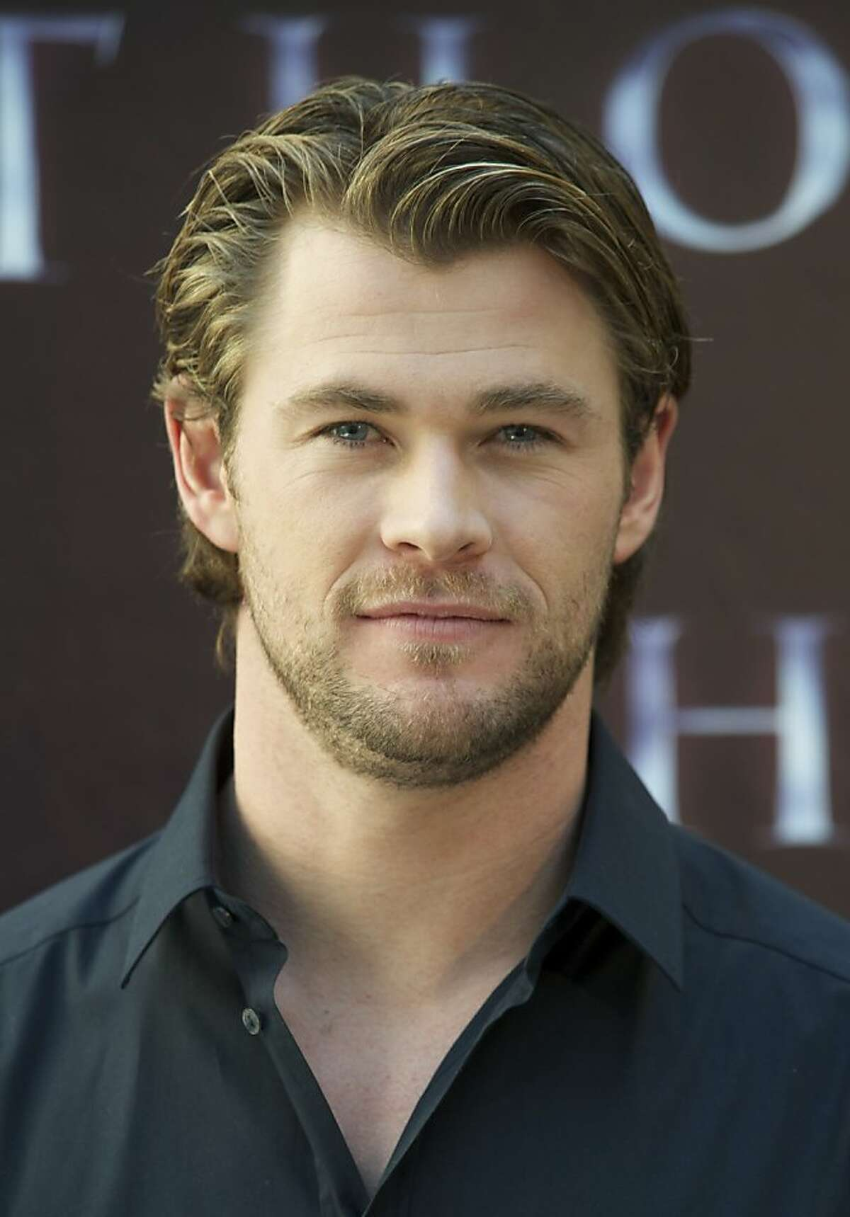 MADRID, SPAIN - APRIL 14: Actor Chris Hemsworth attends