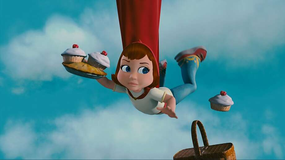 """Red (Hayden Panetierre) lost her basket in Hoodwinked Too in 3D"" Photo: Kanbar Entertainment, The Weinstein Company"