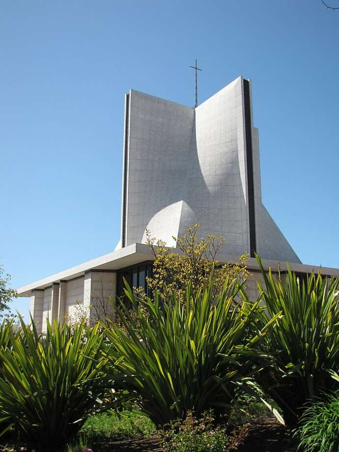 St. Mary's Cathedral, dedicated on May 5, 1971, is one of San Francisco's most commanding structures. Photo: John King