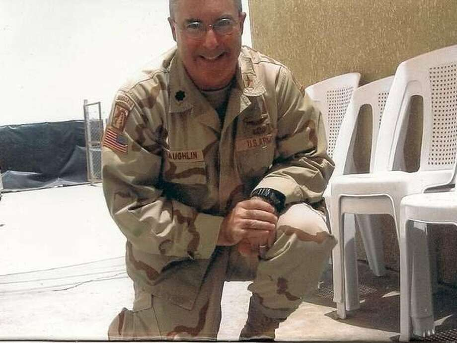 James McLaughlin of Santa Rosa, a former Army lieutenant colonel who became a civilian contractor to the military after leaving the service. He was killed in a shooting in Afghanistan on April 27, 2011. Photo: Courtesy Of Sandy McLaughlin