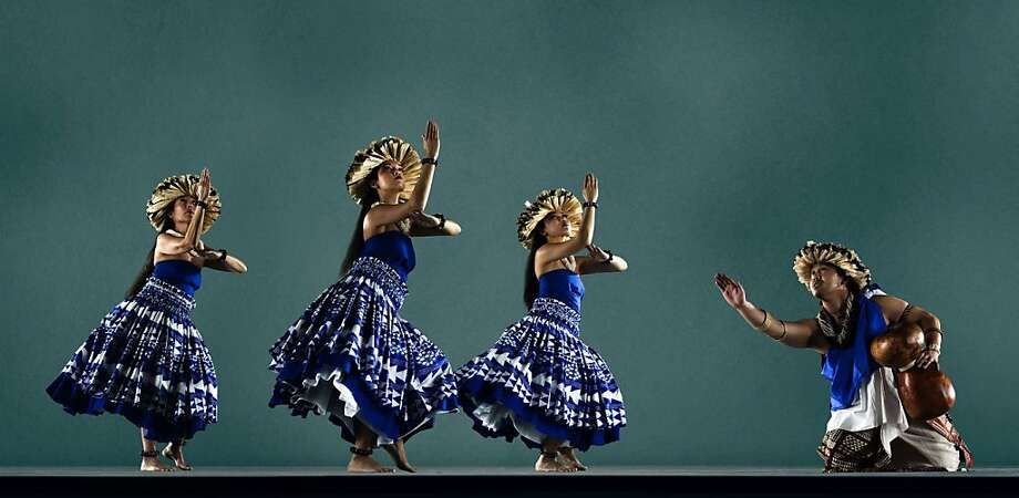 """Hawaiian dance troupe Halau'o Keikiali'i will give a free performance from 3 to 4 p.m. April 24 as part of """"Jewels in the Square,"""" a series presenting music, dance, movies, circus arts and other entertainment in Union Square Park from April through October. (415) 2601, www.jewelssf.org. Photo: Halau'o Keikiali"""