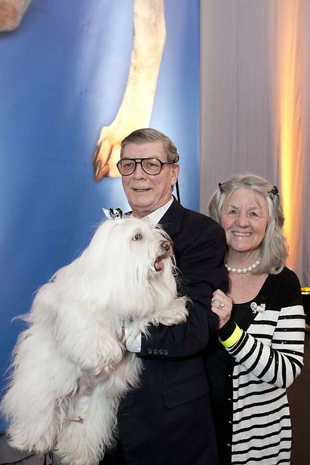 cq'd: Floyd and Kathy Turnquist at the SFSPCA's 15th annual Bark & Whine Ball on March 30 at Fort Mason in San Francisco. Photo: Aubrie Pick, Drew Altizer Photography