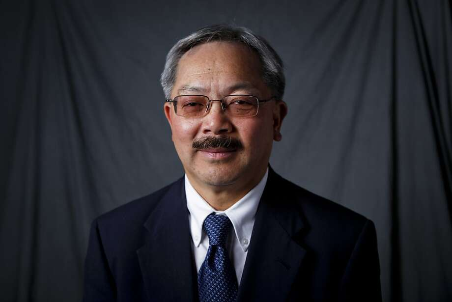 One of S.F's mayoral candidates: Ed Lee -- Career city official chosen to fill Gavin Newsom's job until November vote. Low key and popular for now. On the maybe list so far. Photo: Russell Yip, The Chronicle