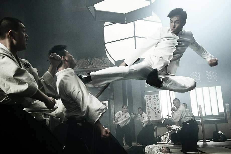 """Donnie Yen kicks into action in the 2010 Hong Kong film """"Legend of the Fist: The Return of Chen Zhen."""" Photo: Well Go USA"""