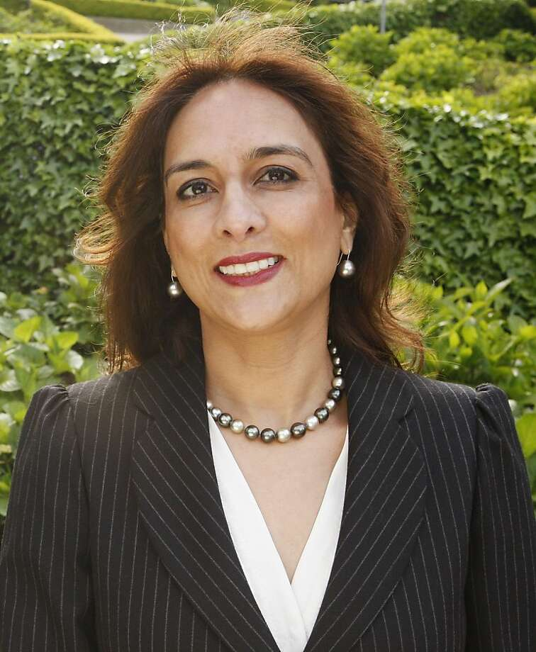 Harmeet Dhillon, San Francisco County chair of the Republican Party, poses for a photograph near her home in San Francisco Calif, on Tuesday, April 19, 2011. Photo: Alex Washburn, The Chronicle