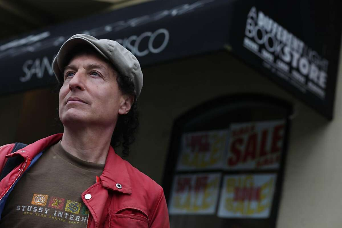 Tommi Avicolli Mecca, who worked at A Different Light Bookstore from 1991 to 2000, is seen in front of the store in San Francisco, Calif., Friday, April 22, 2011.
