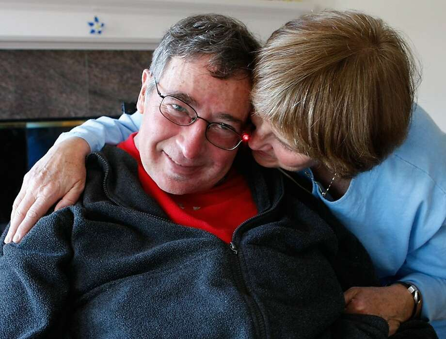 Dr. Richard Olney with his wife of 32 years Paula, at their home, Monday March 10, 2008, in Corte Madera.Photo by Lacy Atkins / San Francisco Chronicle Photo: Lacy Atkins, SFC