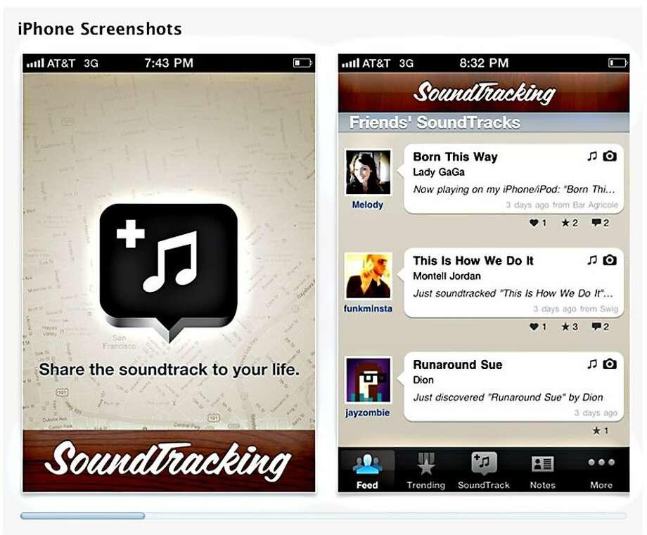 app of the week for 4/25/2011 soundtracker Photo: Soundtracker.com