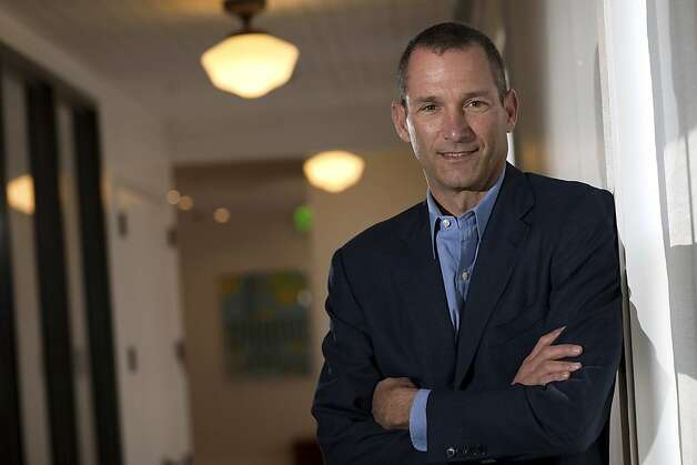 "Jeff Jordan, chief executive officer of OpenTable Inc., stands for a photograph after a Bloomberg West television interview in San Francisco, California, U.S., on Tuesday, April 12, 2011. Jordan discussed the the company's ""Spotlight"" service, growth and business strategy. Photographer: David Paul Morris/Bloomberg Jeff Jordan, chief executive officer of OpenTable Inc., stands for a photograph after a Bloomberg West television interview in San Francisco, California, U.S., on Tuesday, April 12, 2011. Jordan discussed the the company's ""Spotlight"" service, growth and business strategy. Photographer: David Paul Morris/Bloomberg *** Local Caption *** Jeff Jordan Photo: David Paul Morris, Bloomberg"
