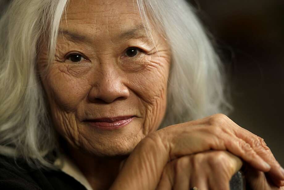 "Maxine Hong Kingston will read from her new book, ""I Love a Broad Margin to My Life,"" tonight at the Mechanics' Institute Library. Photo: Lacy Atkins, The Chronicle"