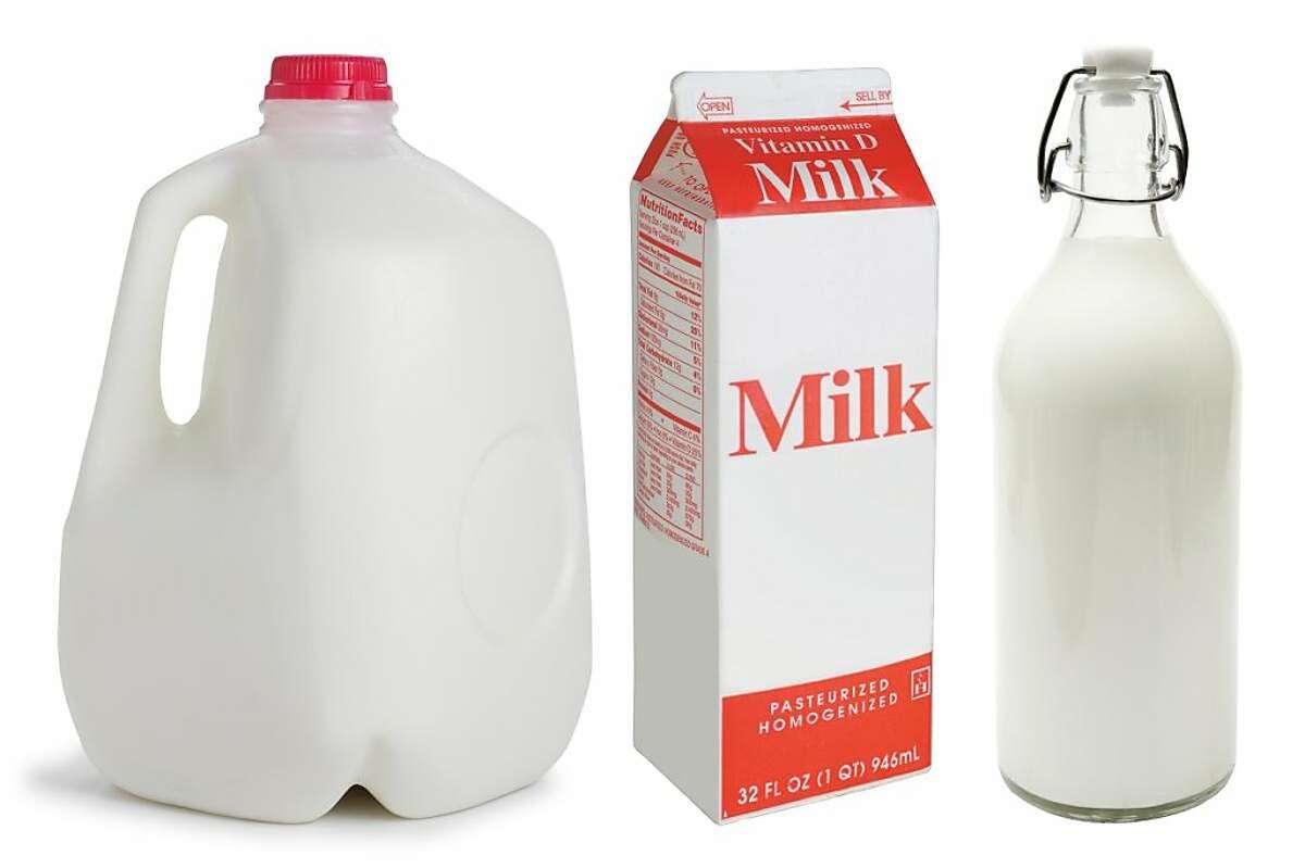 Should I buy my milk in a plastic jug, paperboard carton or glass bottle?