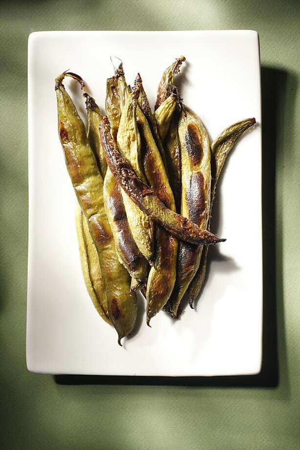 Roasted fava beans as seen in San Francisco, California, on Wednesday, April 13, 2011. Photo: Craig Lee, Special To The Chronicle
