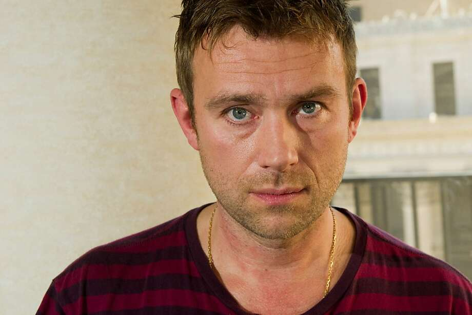 Damon Albarn from the band Gorillaz poses for a portrait at Madison Square Garden in New York, Friday, October 8, 2010. (AP Photo/Charles Sykes) Photo: Charles Sykes, ASSOCIATED PRESS