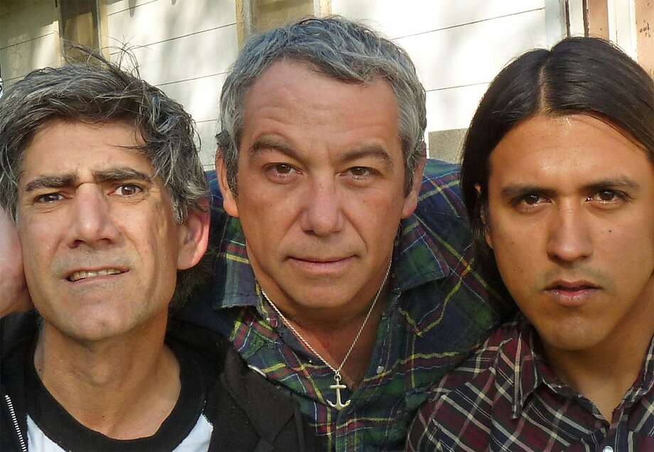 Mike Watt, center, and the Missingmen. Photo: Clenched Wrench