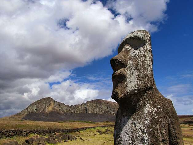 Easter Island Photo: Chris Gray Faust, Special To The Chronicle