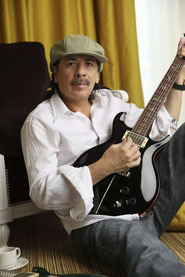 Carlos Santana will perform with the Oakland East Bay Symphony in the orchestra's season opener Photo: Maryanne Bilham, Oakland East Bay Symphony