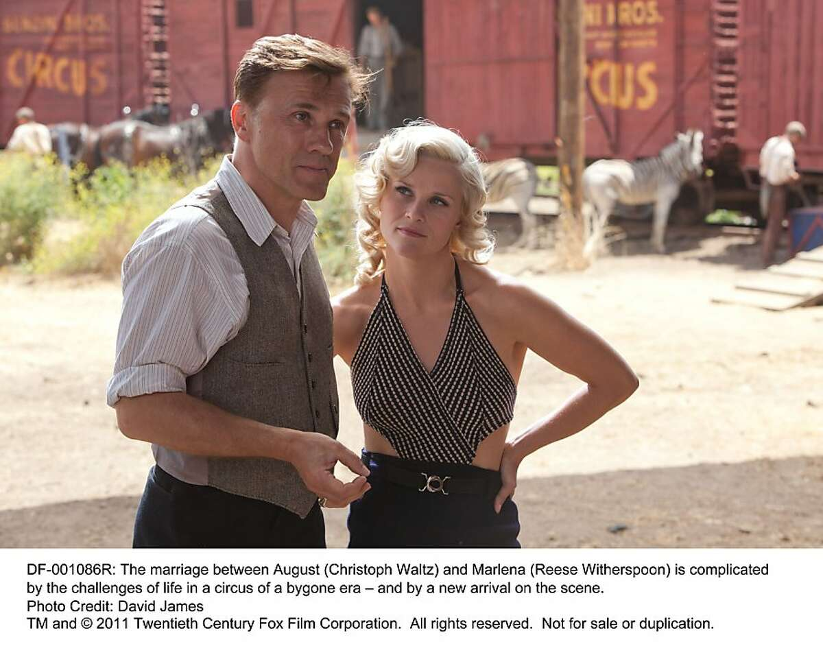 The marriage between August (Christoph Waltz) and Marlena (Reese Witherspoon) is complicated by the challenges of life in a circus of a bygone era ? and by a new arrival on the scene.
