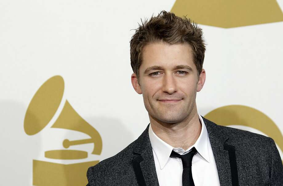 "FILE - In this Feb. 13, 2011 file photo, actor Matthew Morrison from the Fox series ""Glee,"" is seen backstage at the 53rd annual Grammy Awards in Los Angeles. Photo: Jae C. Hong, AP"