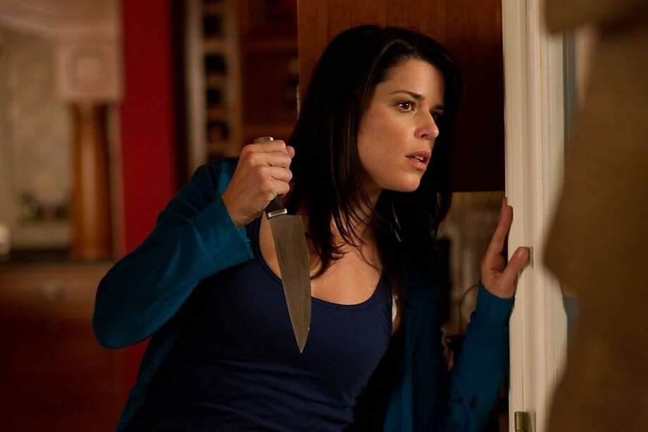 "Neve Campbell in ""Scream 4."" Photo: Dimension Films"