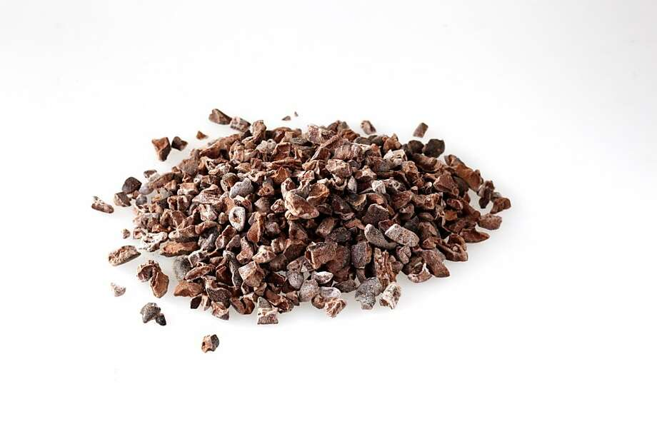 Cocoa nibs. Ingredient for Prospect popcorn (from Prospect, pastry chef, Elise Fineberg) as seen in San Francisco, California, on March 9, 2011. Photo: Craig Lee, Special To The Chronicle