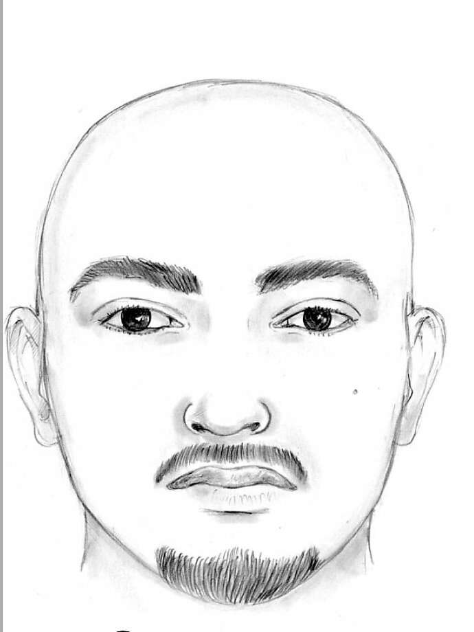 "The Los Angeles Police Department has released sketches of the suspects involved in the beating of the Giants fan, Bryan Stow, at the Dodger Stadium Opening Day March 31, 2011.  The first suspect is listed as a Hispanic Male with a bald head, between 5'6""and 5'10"" and 160-170 lbs.  He is approximately 20-25 years of age with a mustache and goatee.  He was wearing a Dodger jersey, dark shorts, and a blue hat with ""LA"" in white.  He has possible tattoos on his neck and a mole on the left side of his face in the area of his cheek. Photo: Los Angeles Police Department"