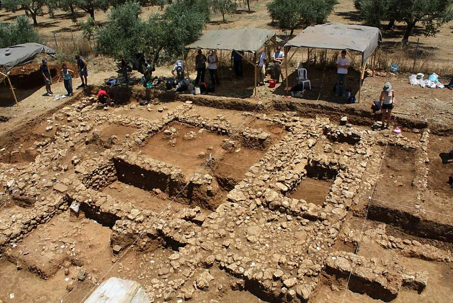 "SPECIAL INSTRUCTIONS = RESTRICTED TO EDITORIAL USE - MANDATORY CREDIT ""AFP PHOTO / HO/ MICHAEL COSMOPOULOS"" - NO MARKETING NO ADVERTISING CAMPAIGNS - DISTRIBUTED AS A SERVICE TO CLIENTS - NO ARCHIVES NO SALES An undated handout photo shows the excavationsite village of Iklaina in the western Peloponnese peninsula , where clay tablet over 3,000 years old that is considered Europe's oldest readable text has been found in an ancient refuse pit .  The tablet, an apparent financial record from a long-lost Mycenaean town, is about a century older than previous discoveries, said Michael Cosmopoulos, an archaeology professor at the University of Missouri-St Louis. Photo: Michael Cosmopoulos, AFP/Getty Images"