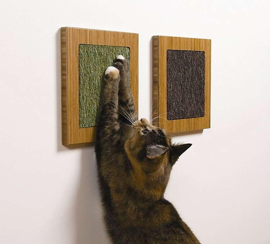 Cat scratcher  Source: Uber   Photo: Square Cat Habitat