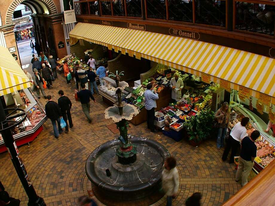 English Market in Cork, Ireland. Photo: Tourism Ireland