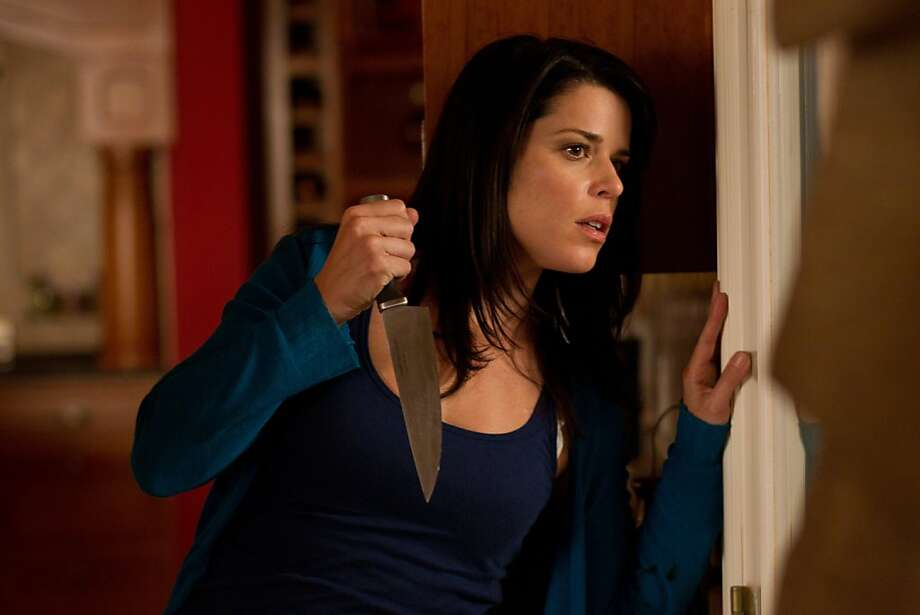 Neve Campbell in Wes Craven's SCRE4M Photo: Phil Bray / Dimension Films