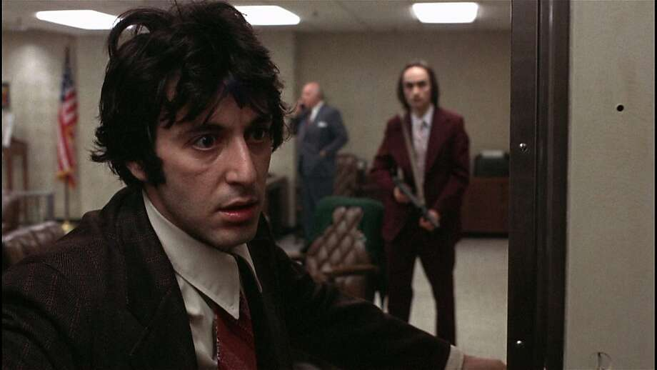 A scene from Sidney Lumet's DOG DAY AFTERNOON, playing as part of the tribute to screenwriter Frank Pierson at the 54th San Francisco International Film Festival, April 21 - May 5, 2011. Photo: SF International Film Festival