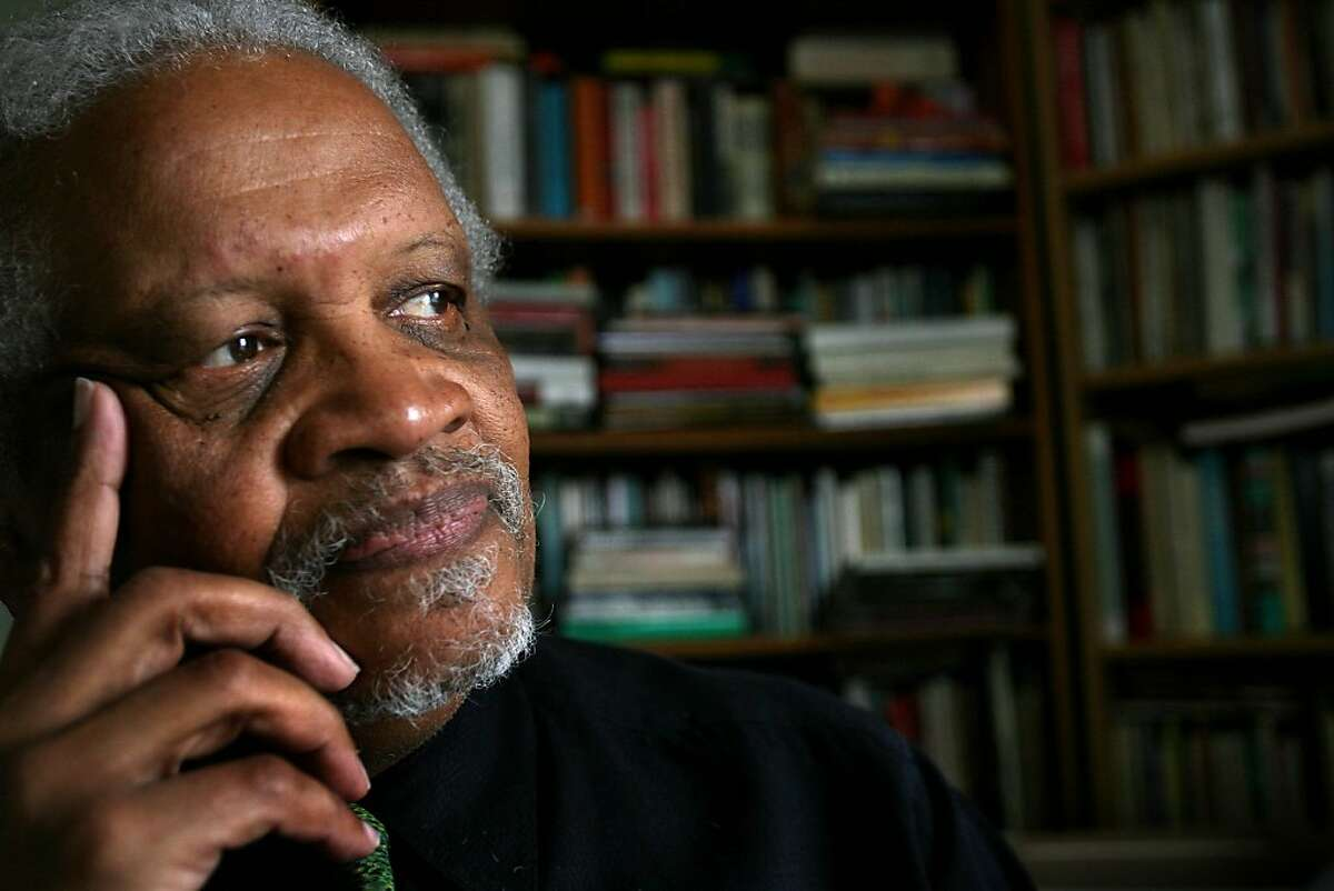 DO NOT USE, FOR PROJECT. Poet Ishmael Reed sits in his home in Oakland, Calif. on Friday, January 2, 2008.
