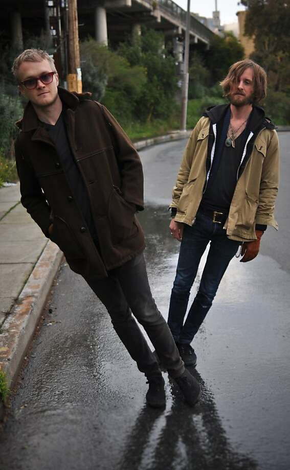Two Gallants: Adam Stephens and Tyson Vogel. Photo: Charles Villyard