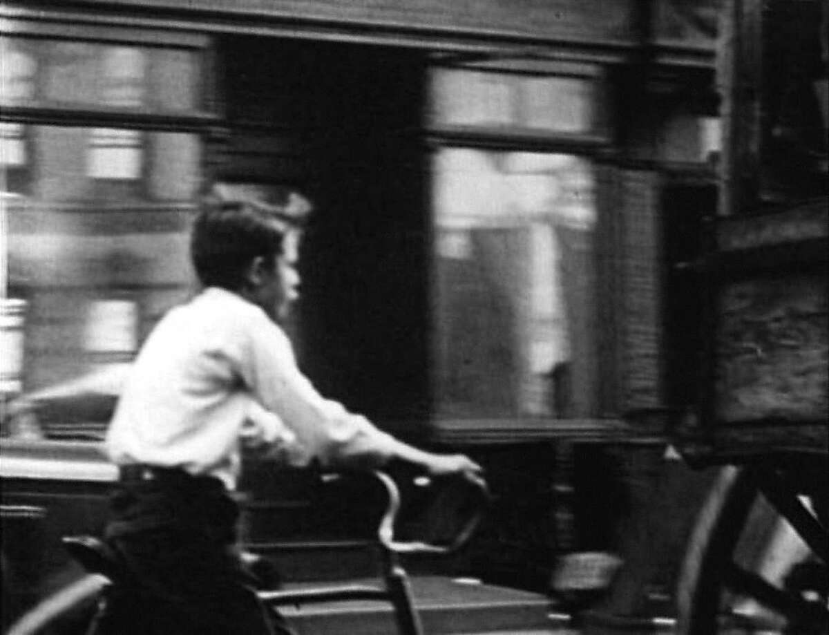 Frame from the film