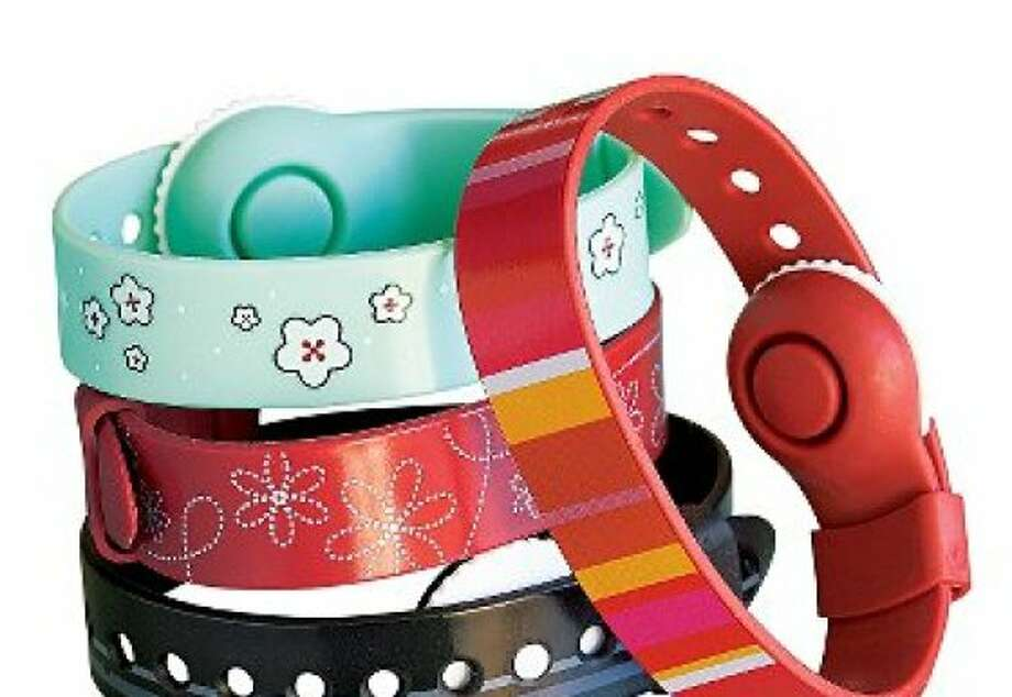 Psi Bands claim to prevent seasickness by pushing on the acupressure points in your wrists. Photo: Travelsmith.com