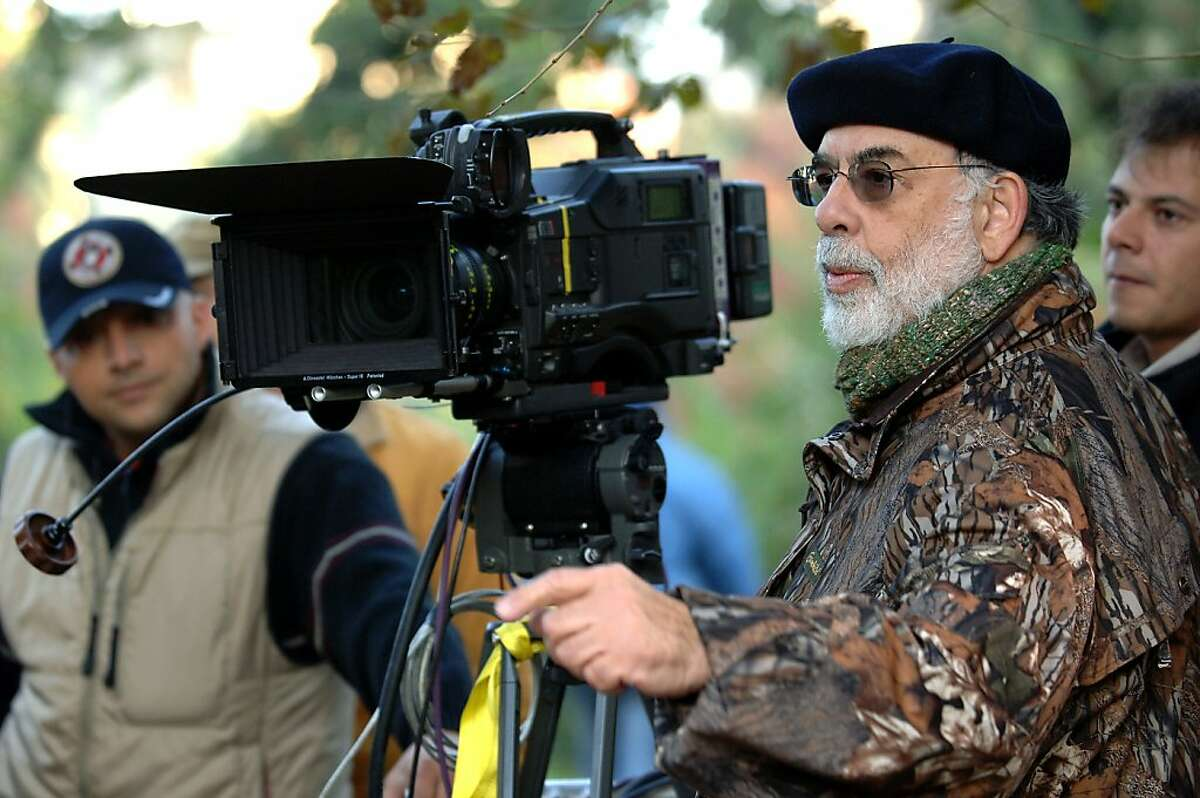 """Francis Ford Coppola filming 2007's """"Youth Without Youth,"""" his first film in 10 years."""