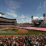 The Giants host the St. Louis Cardinals during their home opener Friday in San Francisco.