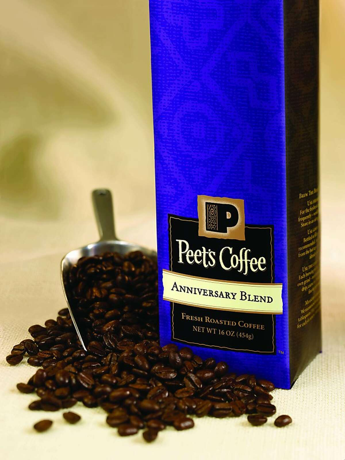 Peet's Anniversary Blend 2011. The faster-growing, more profitable half of Peet's Coffee is it's direct-to-store distribution operation, which sells packaged coffee to grocery and club storesnationwide.
