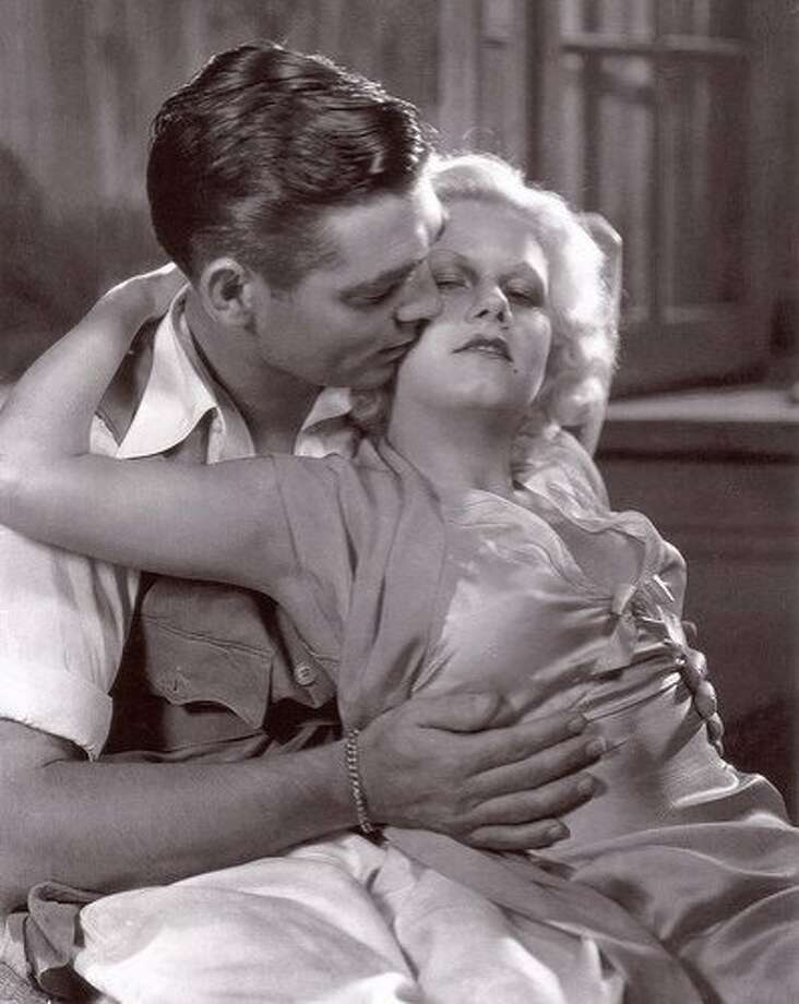 """Clark Gable and Jean Harlow in """"Red Dust."""" Photo: Mgm 1932"""