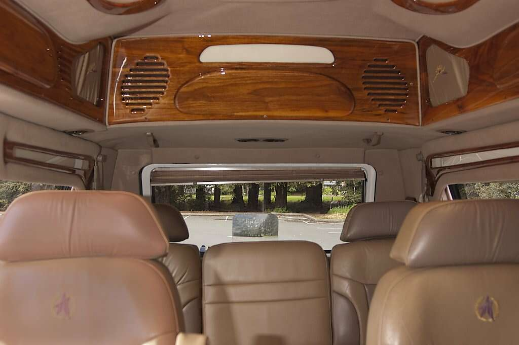 Conversion Van Raised Roof In Good We Ve Taken Her To All Of The Western States Folding Down